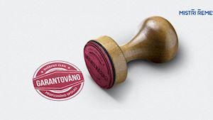 Pečeť GARANTOVÁNO - ověřený člen profesního spolku