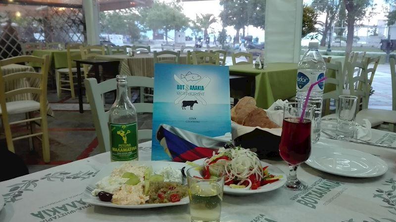 restaurace Votsalakia v Asprovaltě