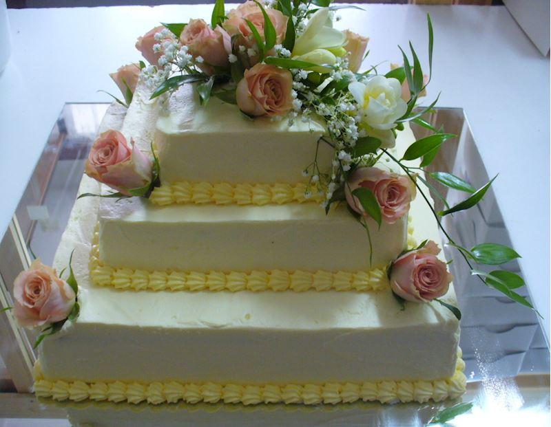 Svatební dort 3P