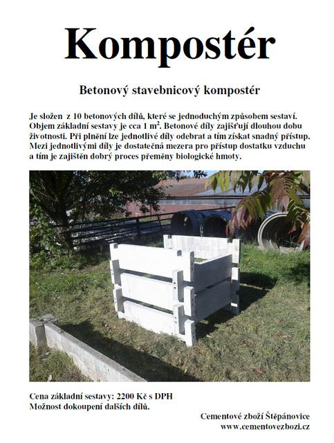 Cementové zboží Tobiška - fotografie 2/16