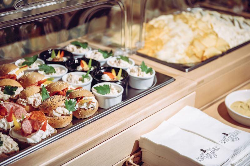 Snídaňový bufet