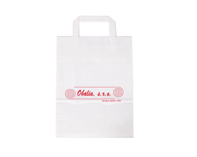 Papírové tašky s potiskem i bez