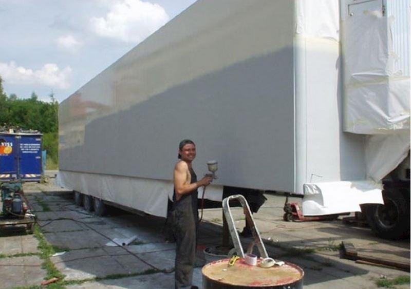 KAMIONSERVIS Praha, a.s. - mezinárodní kamionová přeprava - fotografie 13/23