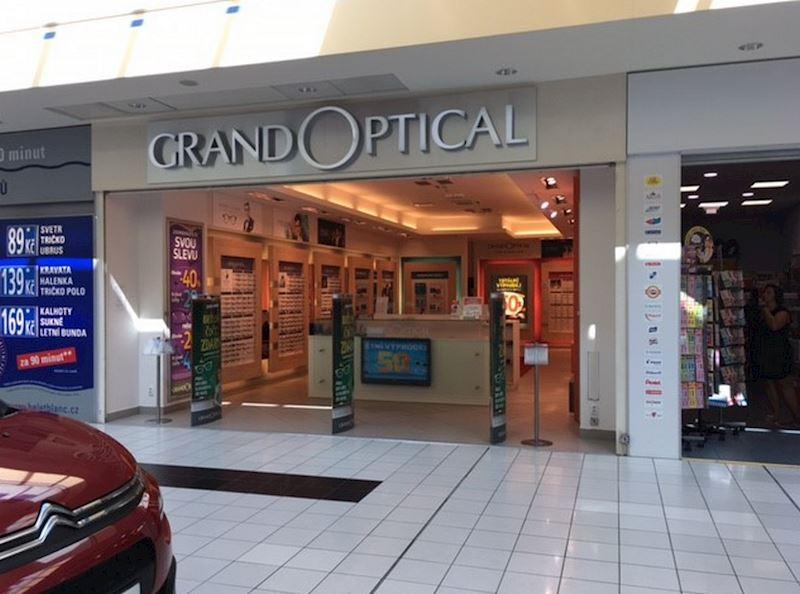Prodejna GrandOptical Centro Zlín