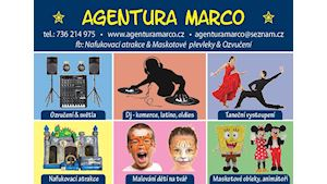 AGENTURA MARCO - skákací hrady, maskoti, ozvučení, eventy na klíč