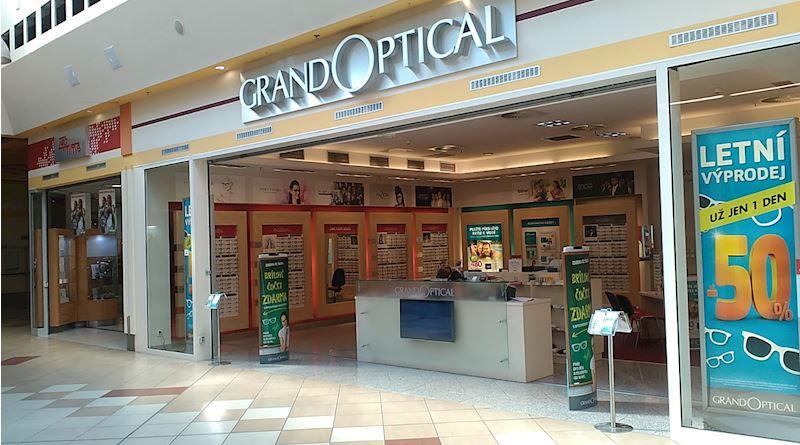 Prodejna GrandOptical NC Královo pole
