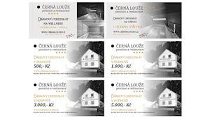 Certifikáty na ubytování a wellness