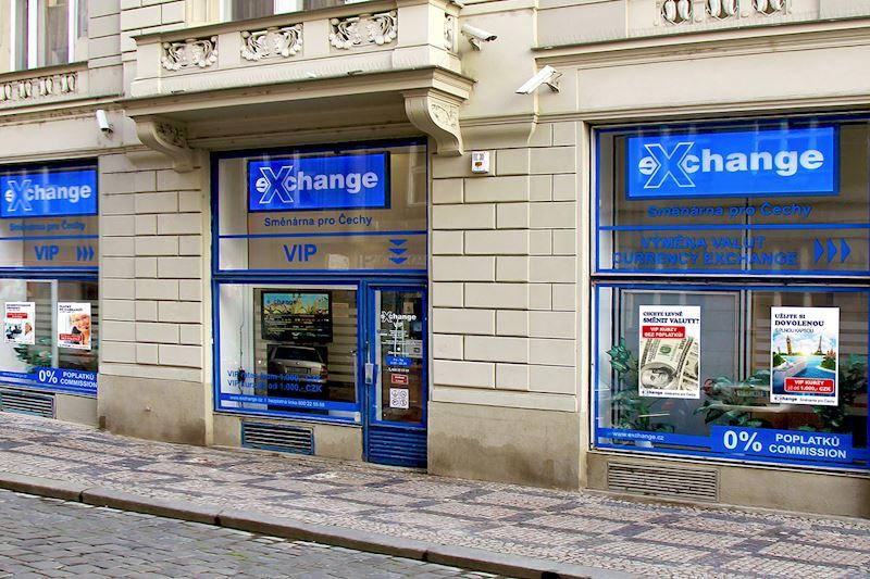 Exchange - Směnárna pro Čechy - VIP pobočka