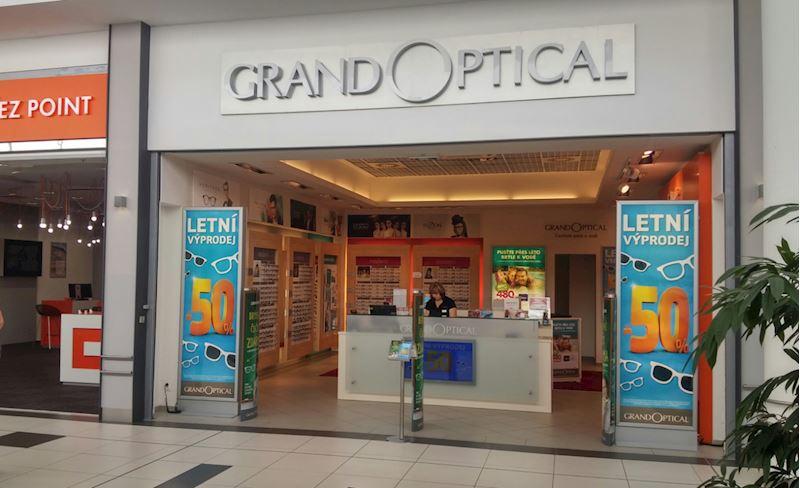 Prodejna GrandOptical Futurum Hradec Králové