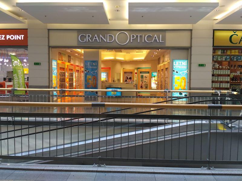 Prodejna GrandOptical FORUM Liberec