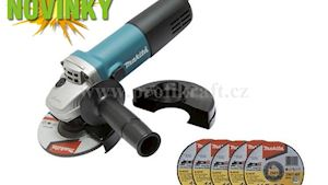 NOVINKA: Bruska úhlová 115mm 840W 9557HNRX1 s příslušenstvím