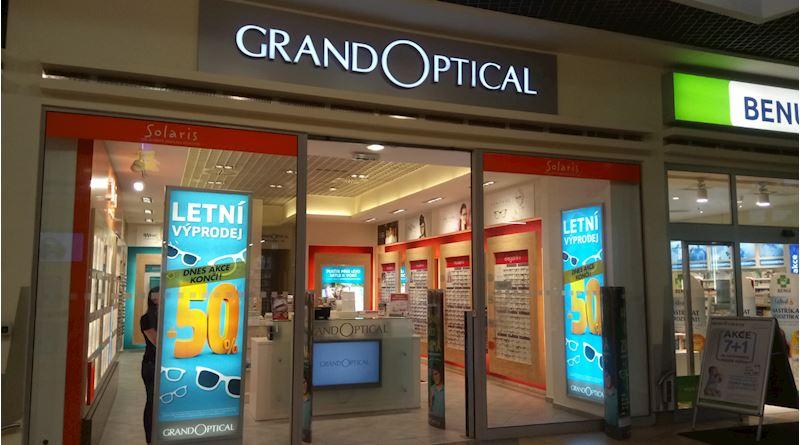 Prodejna GrandOptical OC Haná