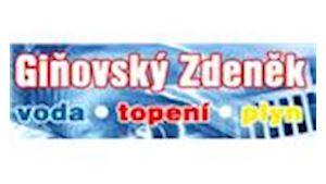 Giňovský Zdeněk - voda - topení - plyn