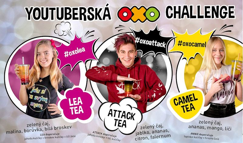 Youtuberská OXO challenge