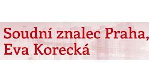 Eva Korecká - soudní znalec Praha