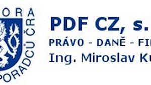 Daňový poradce - PDF CZ, s.r.o. - Ing. Miroslav Kutílek