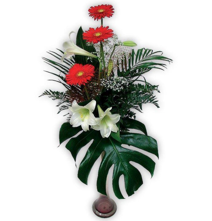 Smuteční volně vázané kytice