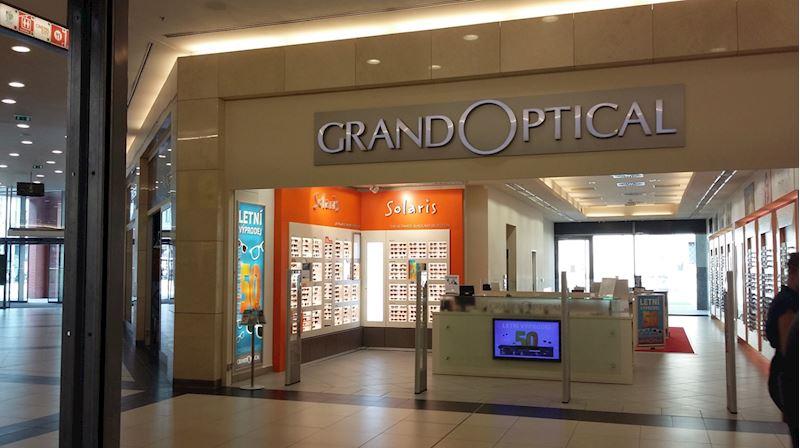 Prodejna GrandOptical FORUM Ústí nad Labem