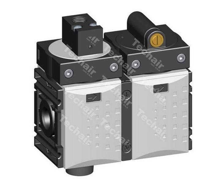 """3/2 uzavírací ventil KSOV-014 - solenoid (G1/4"""")"""