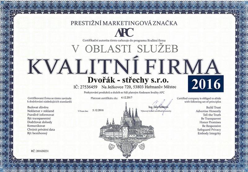 Dvořák – střechy s.r.o. - fotografie 15/15