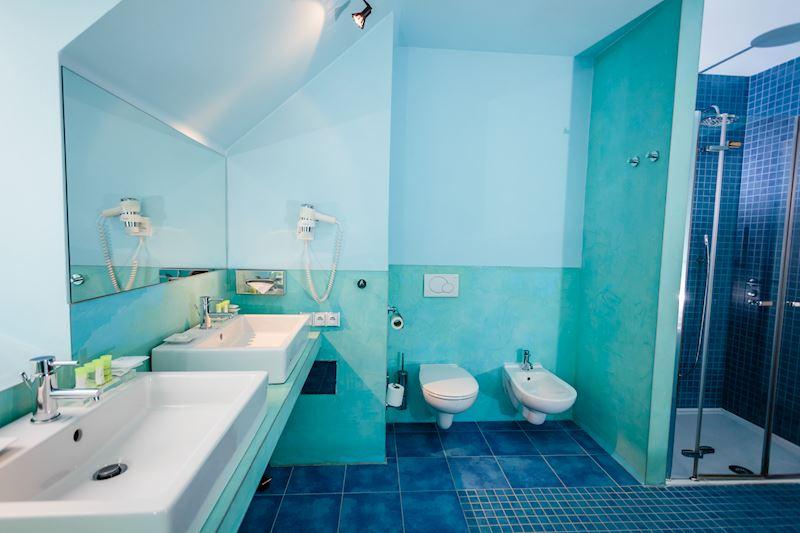 Apartmá Superior - koupelna