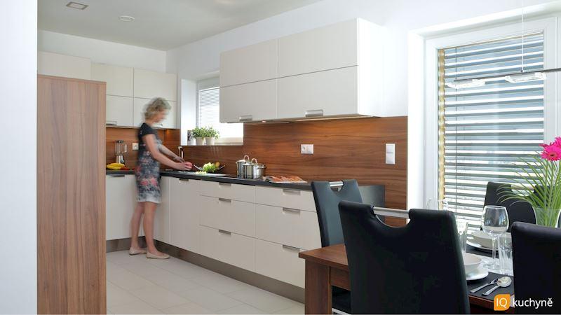 Dřevěná elegance | Kuchyň, kterou si zamilujete