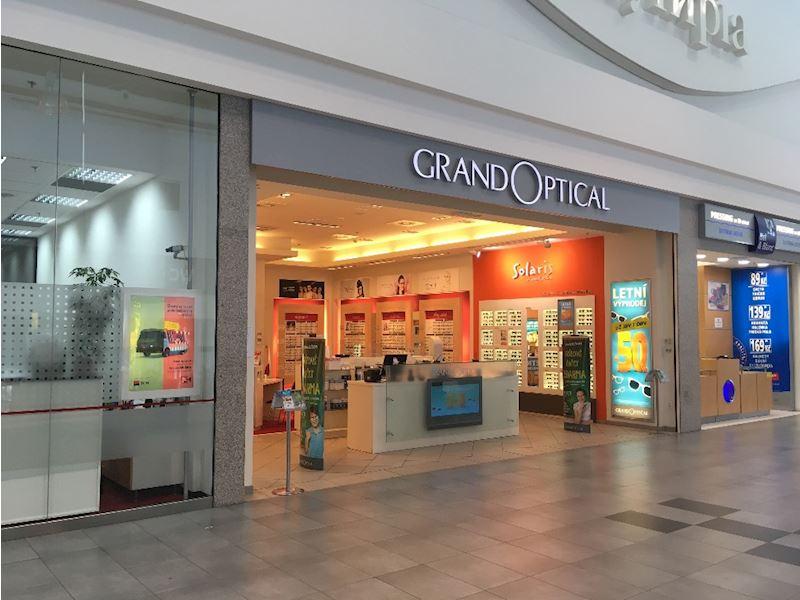 Prodejna GrandOptical OLYMPIA Brno