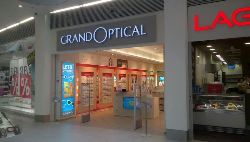 Prodejna GrandOptical Galerie Teplice