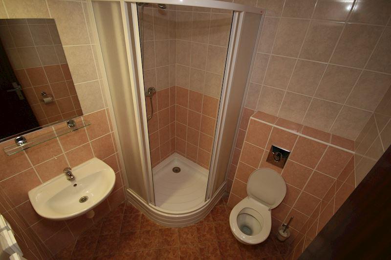 koupelny na pokojích