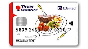 Karta Ticket Restaurant®