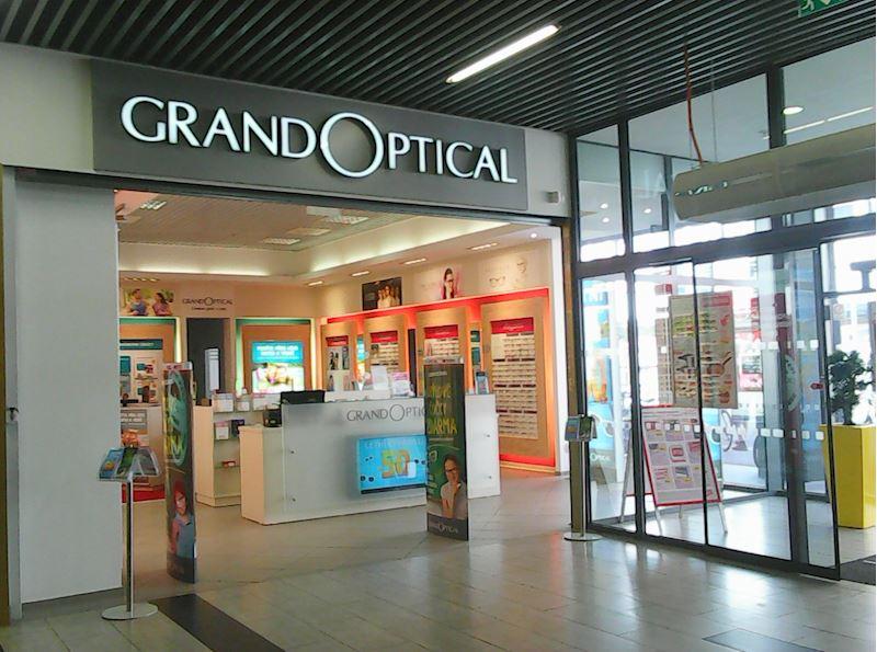 Prodejna GrandOptical Zlatá Brána