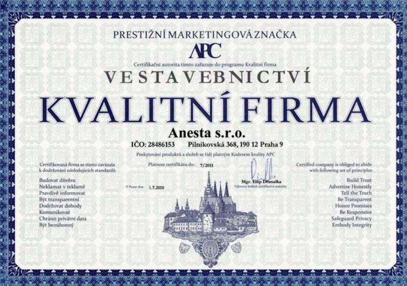Anesta s.r.o. - střechy, fasády Praha - fotografie 20/20