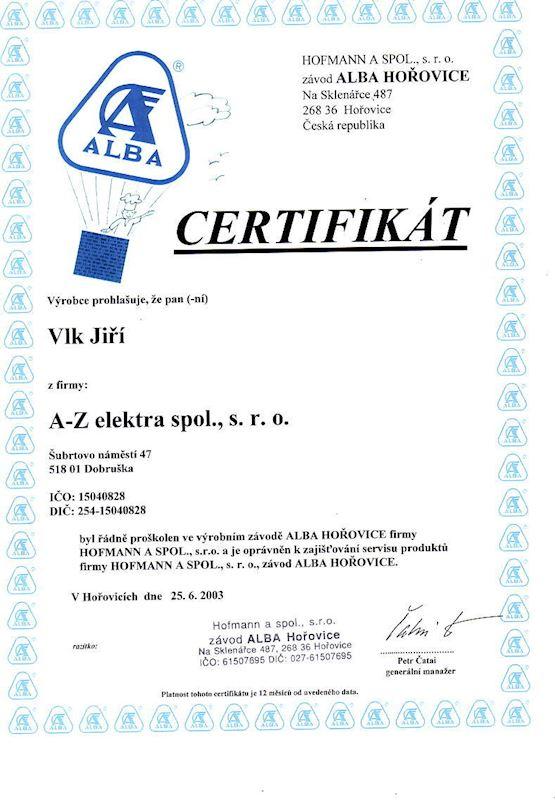 A - Z elektra spol. s r.o. - fotografie 7/13