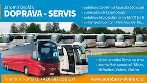 Autobusová doprava - Dvořák Jaromír