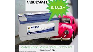 AUTOBATERIE VARTA BLUE DYNAMIC 12V, 95AH, 800A, G3