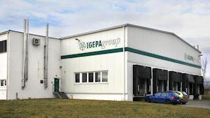Igepa - sídlo Odolena Voda