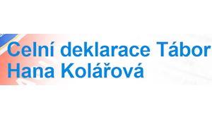 Celní deklarace - Hana Kolářová