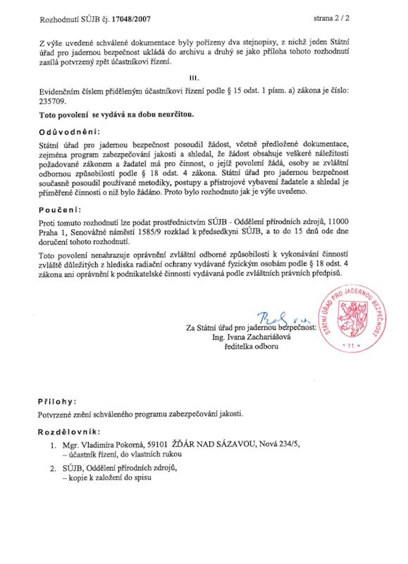 VP-Radon - Pokorná Vladimíra Mgr. - fotografie 4/4