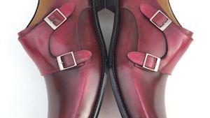 Monk – tradiční boty s přezkou