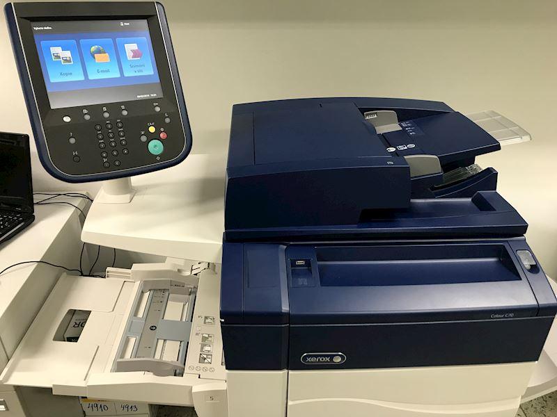 vybavení Xerox - u nás pracují nejmodernější stroje