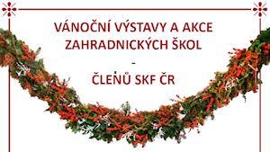 Vánoční výstava tvorby studentů floristiky na Rybničním zámečku