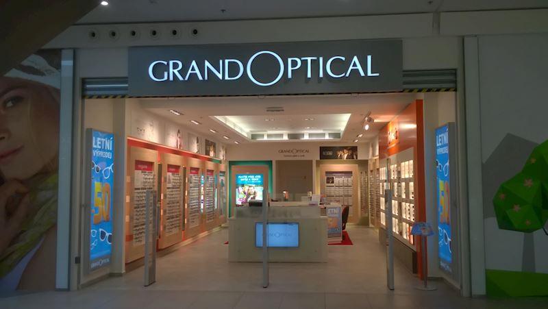 Prodejna GrandOptical Central Jablonec