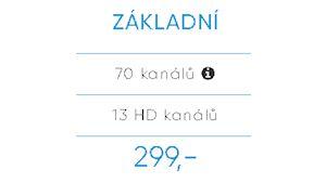 Balíček DIGI TV Základní SAT