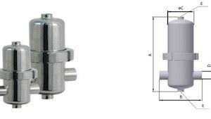Sterilní filtry-nerez SPF 16 bar
