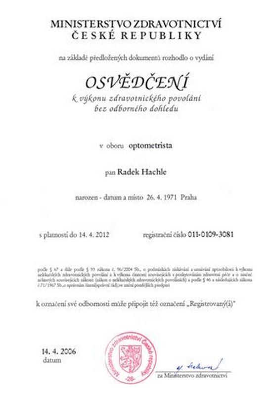R & I optik - HACHLE Radek - fotografie 10/10