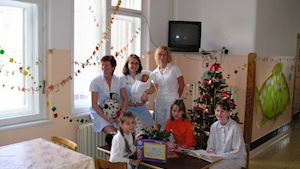Dětské a novorozenecké oddělení