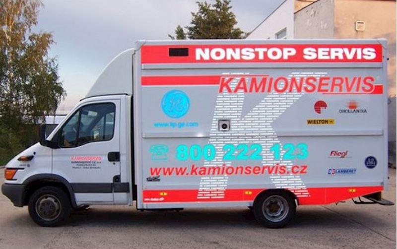 KAMIONSERVIS Praha, a.s. - mezinárodní kamionová přeprava - fotografie 17/23