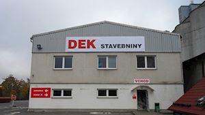 Stavebniny DEK Svitavy Olomoucká
