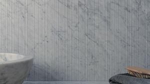 obklad: bianco carrara - bamboo / design: salvatori