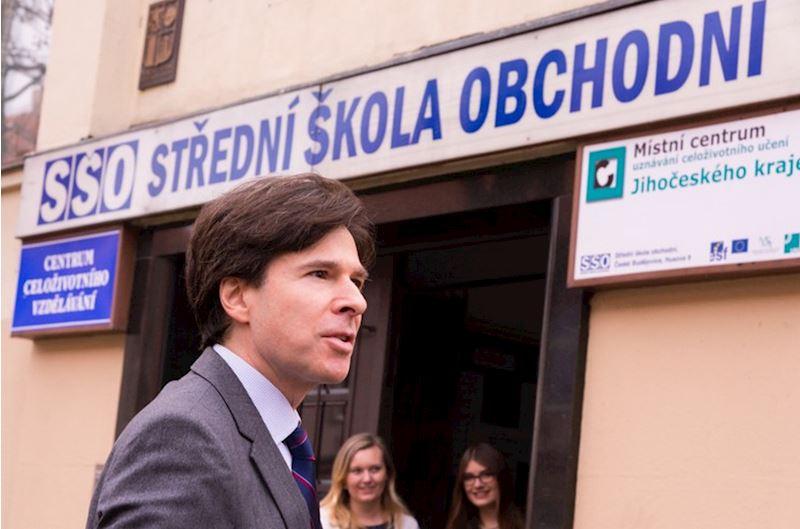 Střední škola obchodní, České Budějovice, Husova 9 - fotografie 3/10